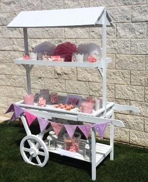 carritos de chuches para comuniones niñas