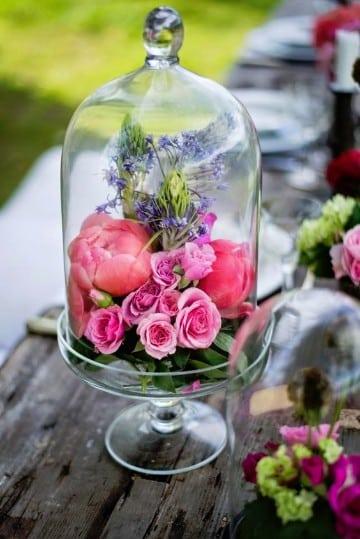 como hacer arreglos de flores naturales para 15 años