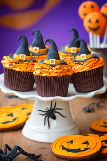 cupcakes para halloween decorados