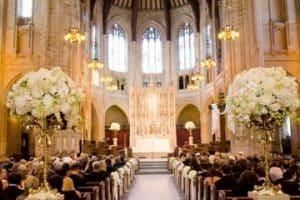 Arreglos y decoracion de iglesia para matrimonio y civil