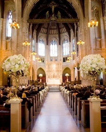 decoracion de iglesia para matrimonio cristianos