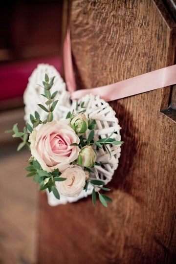 decoracion de iglesia para matrimonio sencillo