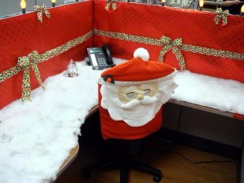 decoracion navideña para oficinas 2015