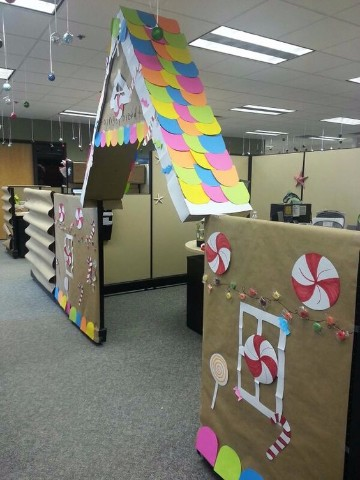 Tendencias decoracion navide a para oficinas y hogar for Decoracion navidena para oficinas