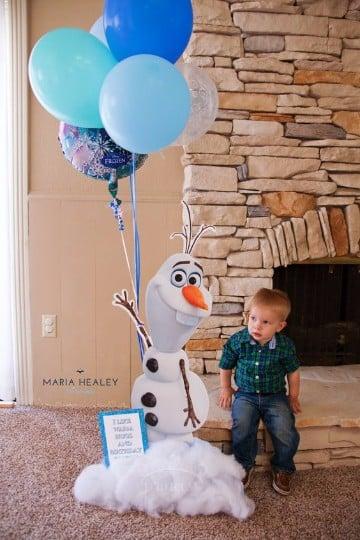 decoraciones de frozen para fiestas infantiles para imprimir