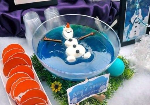decoraciones de frozen para fiestas infantiles sencillas