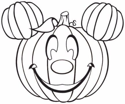 imagenes de calabazas para colorear halloween