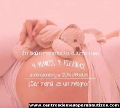 imagenes de embarazadas bonitas con frases