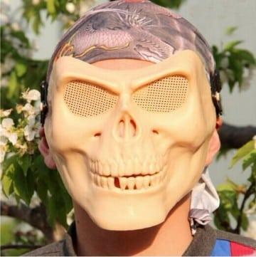 imagenes de mascaras de terror faciles