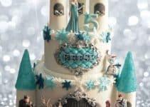 Aventura congelada en imagenes de pasteles de frozen