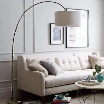 Lindas y modernas lamparas de pie para salon o living - Lamparas de pie clasicas ...