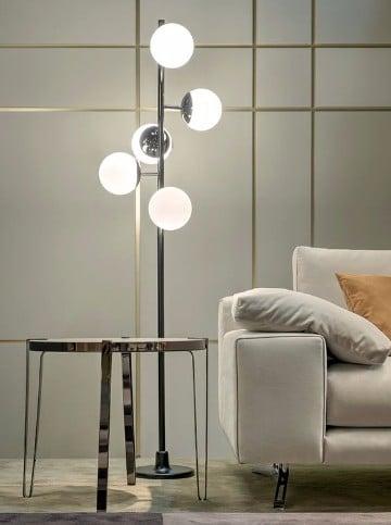 Lindas y modernas lamparas de pie para salon o living for Lamparas de pie de diseno