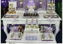Decoracion de mesas decoradas de princesa sofia