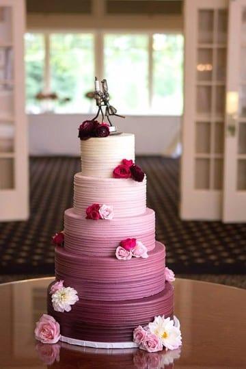 modelos de tortas para matrimonio originales