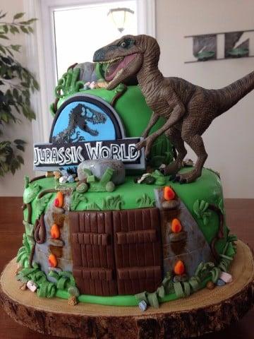 tortas de dinosaurios infantiles decoradas