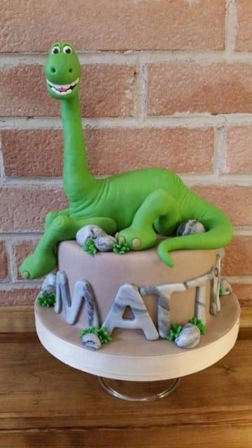 tortas de dinosaurios infantiles para niños
