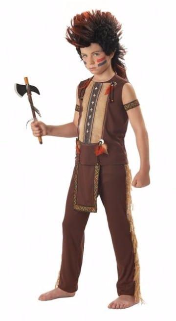 trajes de indios para niños con chaleco