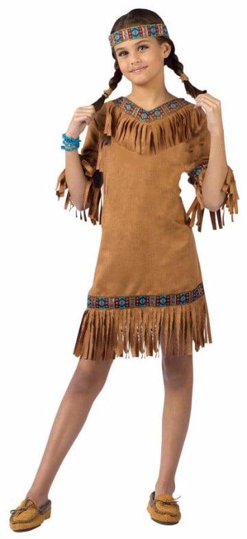 trajes de indios para niños sencillos