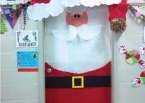 Adornos de navidad para puertas decoradas delegantes