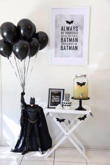 arreglos de globos para hombres cumpleaños