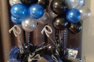 Arreglos de globos para hombres, un buen regalo de caballero