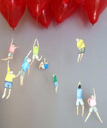 arreglos de globos para hombres novio