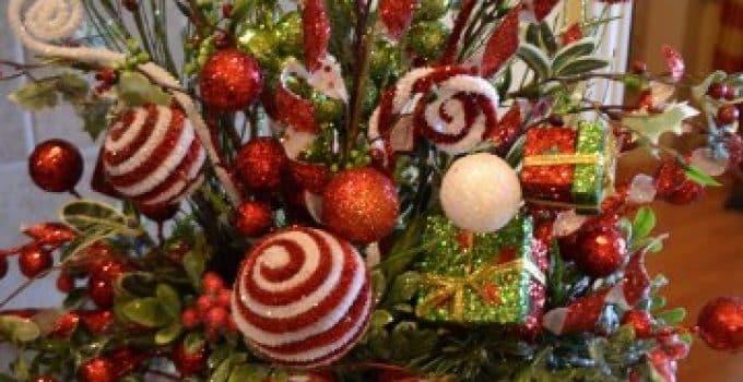 Centros de mesa navide os economicos centros de mesa for Arreglos navidenos para mesa