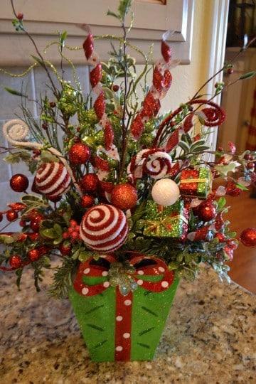 Manualidades de arreglos navide os para mesa sencillos - Arreglos navidenos para mesa ...