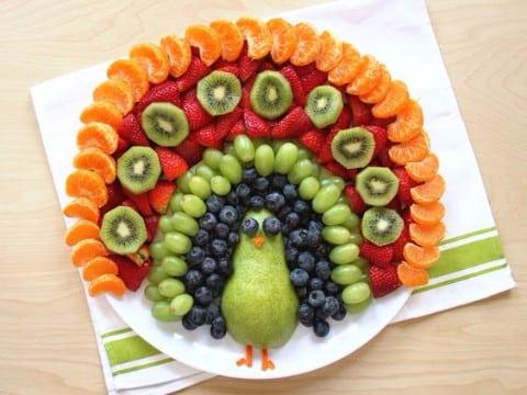 Centros de mesa de frutas para fiestas infantiles y xv for Como secar frutas para decoracion