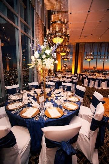 centros de mesa para bodas de oro faciles