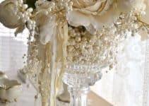 Ideas para decorar centros de mesa para bodas de oro faciles