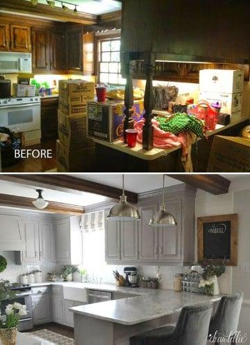 como decorar cocinas pequeñas grandes ideas