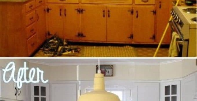 Cocinas peque as rusticas centros de mesa para bautizos - Como decorar una cocina moderna ...