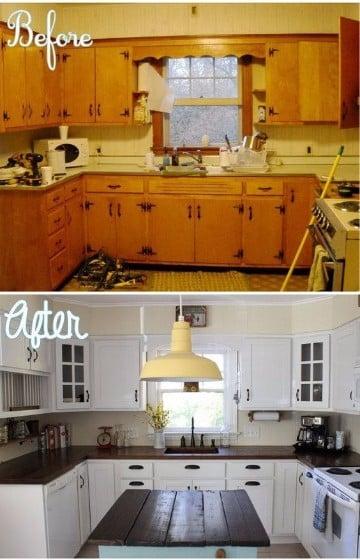 como decorar cocinas pequeñas modernas