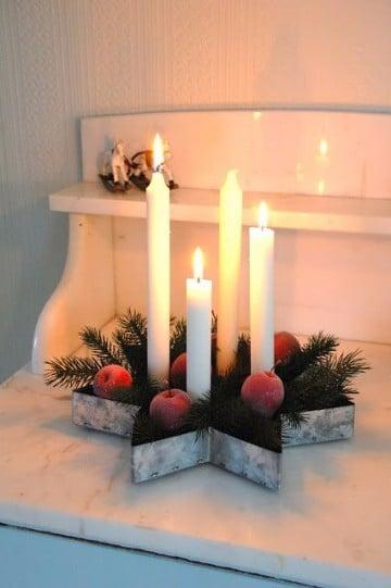como decorar una corona navideña manualidades