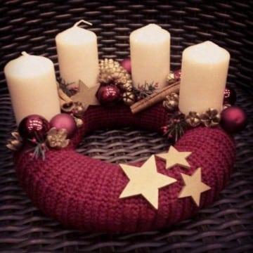 como decorar una corona navideña paso a paso