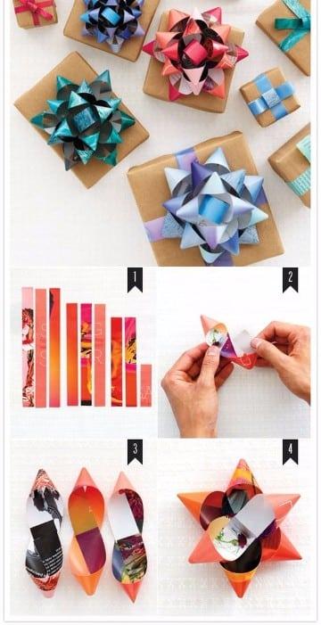 como hacer lazos de regalo faciles
