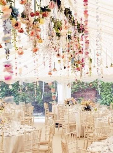 decoracion para bodas al aire libre de dia