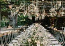 Imagenes de decoracion de bodas en jardin de dia y noche