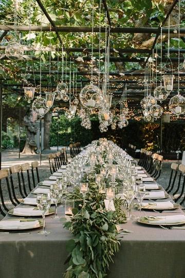 decoracion de bodas en jardin al aire libre