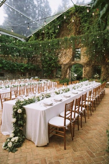 decoracion de bodas en jardin de dia