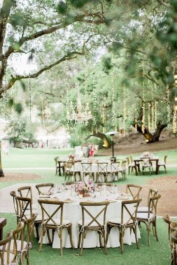 decoracion de bodas en jardin sencilla