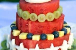 Imagenes de mesas de decoracion de frutas para fiestas