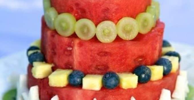 Decoracion de frutas para eventos centros de mesa para for Decoracion de frutas para fiestas infantiles