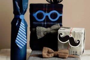 Como hacer envolturas de regalo para hombre originales
