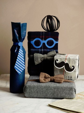 Como hacer envolturas de regalo para hombre originales for Envolturas para regalos