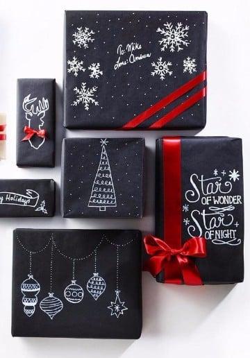 envolturas de regalos creativas para hombres