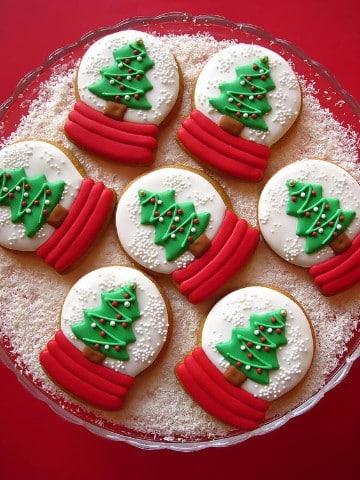 galletas de navidad decoradas chocolate