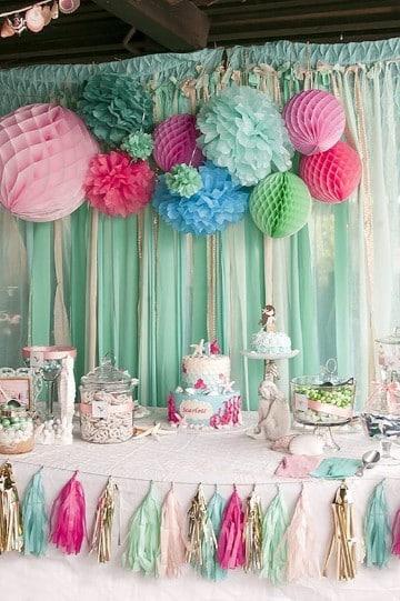ideas para cumpleaños de un año neña