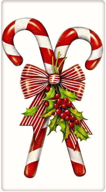 imagenes de bastones navideños de cartón